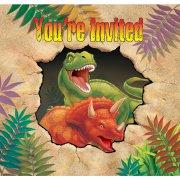8 Inviti Dino Relief