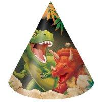 Contiene : 1 x 8 Cappelli Dino Relief