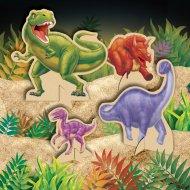 Centrotavola dinosauri in rilievo