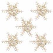 5 Fiocchi di Neve di zucchero