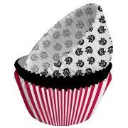75 Pirottini per cupcake pirata ribelle