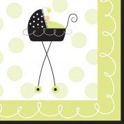 16 Tovagliolini Baby Fun
