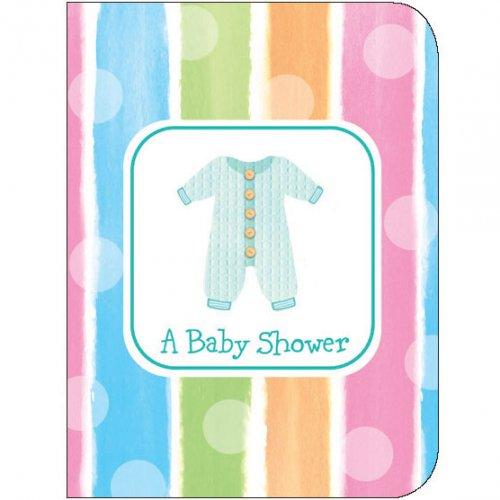 8 Inviti Baby Shower