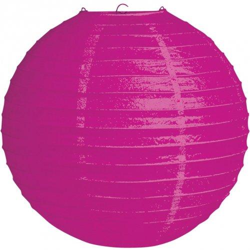 Sfera lampione rosa