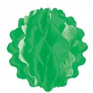 Sfera di carta verde mini