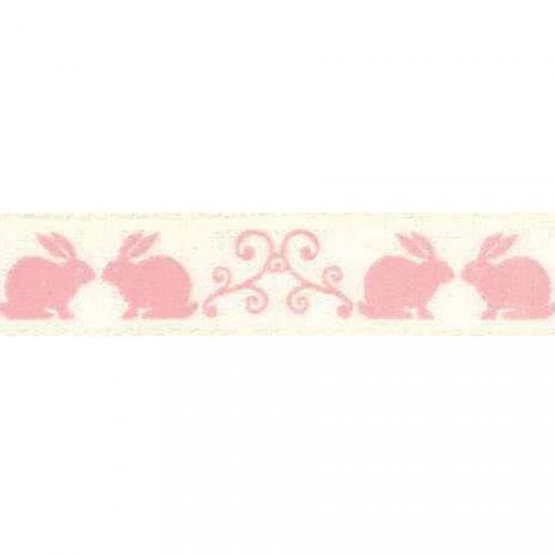 Nastro di Pasqua rosa