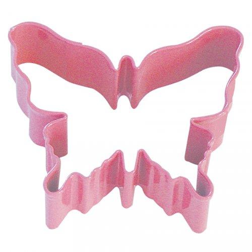 Tagliabiscotti farfalla rosa