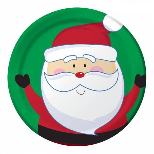 8 Piatti Natale Ho Ho Ho