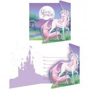8 Inviti Unicorno magico