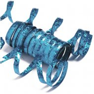 10 Serpentine olografiche Blu (1,98 m)
