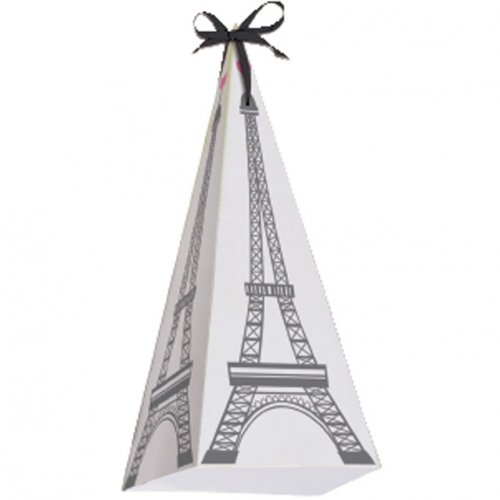 6 scatole per caramelle Tour Eiffel