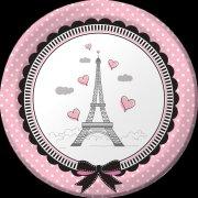 8 Piattini Parigi Chic