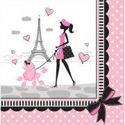 18 Tovaglioli Parigi Chic