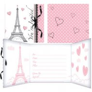 8 Inviti Paris Chic