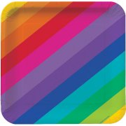 8 Piattini Rainbow Fun
