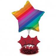 Palloncino centrotavola - Arcobaleno divertente