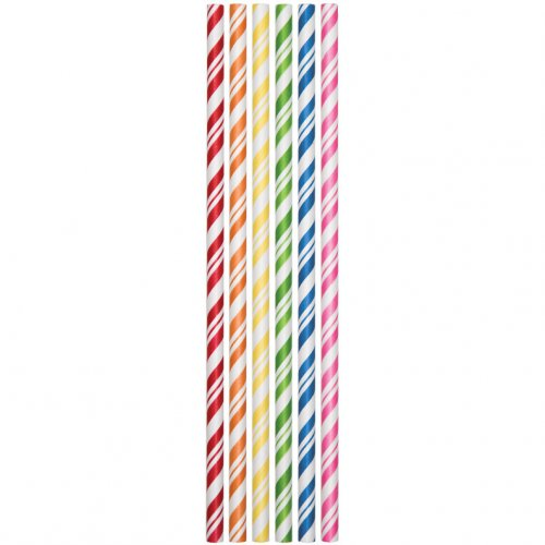 24 cannucce Vintage arcobaleno