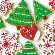 16 Tovagliolini Biscotti natalizi