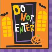 16 Tovaglioli Creepy Halloween