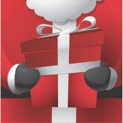 16 Tovaglioli Babbo Natale Goloso