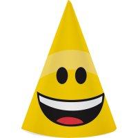 Contiene : 1 x 8 Cappelli Emoticon Smile