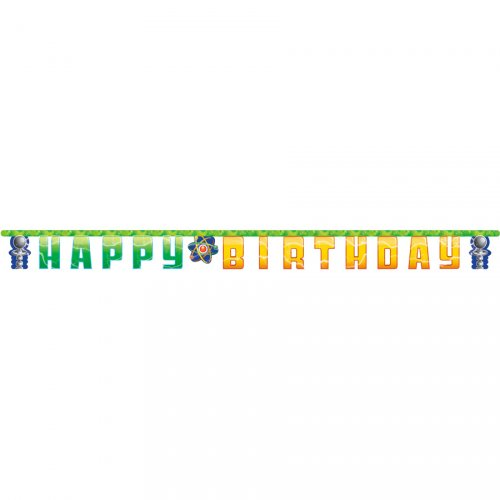 Ghirlanda Happy Birthday scienziato pazzo