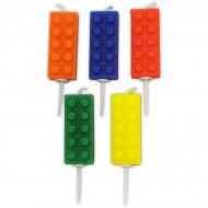 5 mini candele Block Party