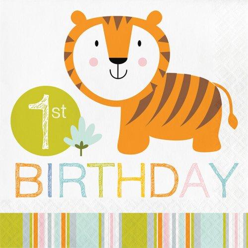 16 Tovaglioli Happy Jungle 1 anno