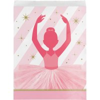 Contiene : 1 x 10 Sacchetti regalo Prima ballerina - Carta