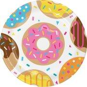 8 Piatti Donuts Party
