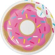 8 Piattini Donuts Party