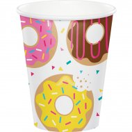 8 Bicchieri Donuts Party