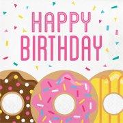 16 Tovaglioli Donuts Party