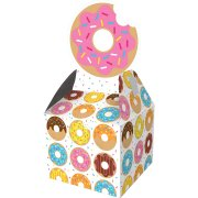 8 Scatole regalo Donuts Party