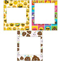 Contiene : 1 x 3 cornici foto Emoji Crazy (35 cm)