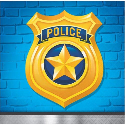 16 Tovagliolini Pattuglia di Polizia