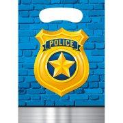 8 Sacchetti regalo Pattuglia di polizia