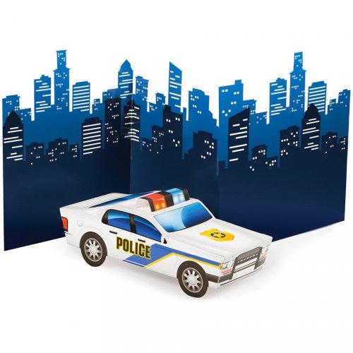 Centrotavola pattuglia di polizia