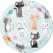 8 Piattini Gatto Chic