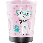 Bicchiere Gatto Chic formato grande (47 cl) - Plastica