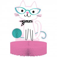 Centrotavola gatto elegante