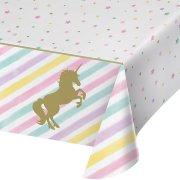 Tovaglia Unicorno Arcobaleno Pastello