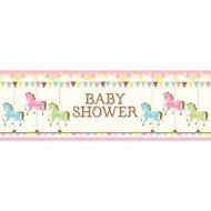 Banner baby shower maneggio (1,52 m)
