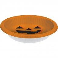 20 piatti fondi Zucca Halloween (22 cm)