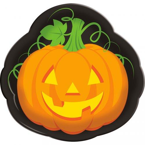 Vassoio Halloween Zucca (35 cm)