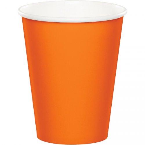 24 Bicchieri Arancioni