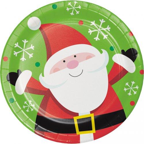 8 Piattini Natale divertente