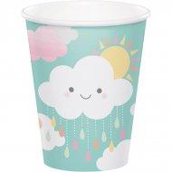 8 Bicchieri Nuvole Baby