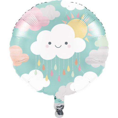 Palloncino piatto Nuvole Baby