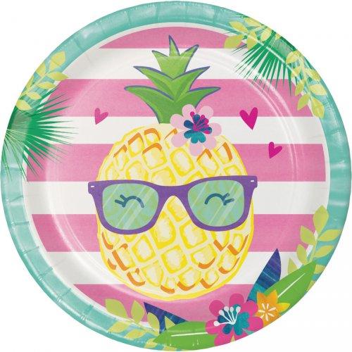 8 Piatti Ananas Party